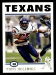 2004 Topps #284  Tony Hollings  Front Thumbnail