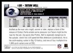 2004 Topps #317  Tatum Bell  Back Thumbnail