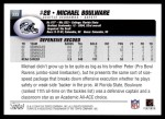 2004 Topps #333  Michael Boulware  Back Thumbnail