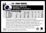 2004 Topps #376  Craig Krenzel  Back Thumbnail