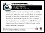 2004 Topps #359  Shawn Andrews  Back Thumbnail