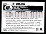 2004 Topps #314  Greg Jones  Back Thumbnail