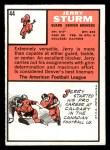 1966 Topps #44  Jerry Sturm  Back Thumbnail