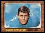 1966 Topps #46  Scott Appleton  Front Thumbnail