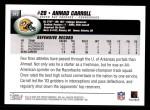 2004 Topps #312  Ahmad Carroll  Back Thumbnail