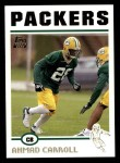 2004 Topps #312  Ahmad Carroll  Front Thumbnail