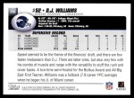 2004 Topps #336  D.J. Williams  Back Thumbnail