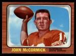 1966 Topps #40  John McCormick  Front Thumbnail