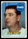 1969 Topps #318  Jack Fisher  Front Thumbnail