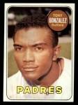 1969 Topps #501 YN Tony Gonzalez  Front Thumbnail