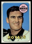 1969 Topps #29  Dave Morehead  Front Thumbnail
