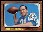 1966 Topps #125  John Hadl  Front Thumbnail