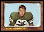 1966 Topps #1  Tom Addison  Front Thumbnail