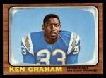 1966 Topps #123  Kenny Graham  Front Thumbnail