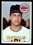 1969 Topps #137  Wally Bunker  Front Thumbnail