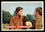 1956 Topps Davy Crockett #40 ORG  Tragedy Strikes  Front Thumbnail
