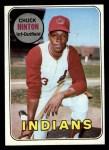 1969 Topps #644  Chuck Hinton  Front Thumbnail