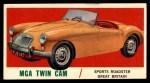 1961 Topps Sports Cars #13   Mga Twin Cam Front Thumbnail