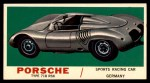 1961 Topps Sports Cars #25   Porsche Type 718 RSK Front Thumbnail