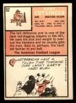 1966 Topps #52  Gary Cutsinger  Back Thumbnail