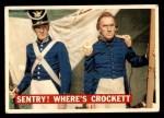 1956 Topps Davy Crockett #4 ORG  Sentry! Where's Crockett    Front Thumbnail