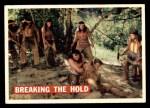 1956 Topps Davy Crockett #32 ORG  Breaking the Hold  Front Thumbnail