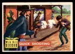 1956 Topps Round Up #5   -  Wild Bill Hickok Quick Shooting Front Thumbnail