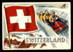 1956 Topps Flags of the World #39   Switzerland Front Thumbnail
