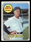 1969 Topps #40  Mayo Smith  Front Thumbnail