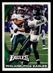2010 Topps #73   -  DeSean Jackson Eagles Team Front Thumbnail