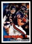 2010 Topps #66   -  Matt Forte / Jay Cutler Bears Team Front Thumbnail