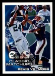 2010 Topps #24   -  Darelle Revis / Randy Moss Classic Matchups Front Thumbnail