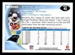2010 Topps #45  Steve Smith  Back Thumbnail