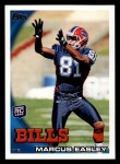2010 Topps #122  Marcus Easley  Front Thumbnail