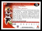 2010 Topps #128  Thomas DeCoud  Back Thumbnail