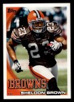 2010 Topps #71  Sheldon Brown  Front Thumbnail