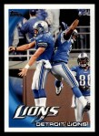 2010 Topps #117   -  Matthew Stafford / Kevin Smith Lions Team Front Thumbnail