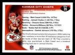 2010 Topps #35   -  Matt Cassel / Jamaal Charles Chiefs Team Back Thumbnail