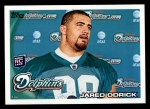 2010 Topps #81  Jared Odrick  Front Thumbnail