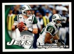 2010 Topps #97   -  Mark Sanchez / Shonn Greene Jets Team Front Thumbnail