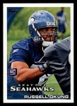 2010 Topps #93  Russell Okung  Front Thumbnail