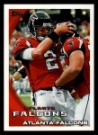 2010 Topps #16   -  Matt Ryan Falcons Team Front Thumbnail