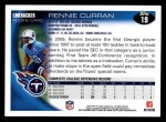 2010 Topps #19  Rennie Curran  Back Thumbnail
