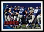 2010 Topps #116   -  Eli Manning / Brandon Jacobs Giants Team Front Thumbnail