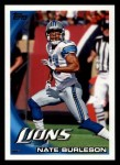 2010 Topps #43  Nate Burleson  Front Thumbnail