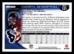 2010 Topps #121  Darryl Sharpton  Back Thumbnail