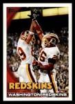 2010 Topps #146   -  Clinton Portis / Santana Moss Redskins Team Front Thumbnail
