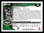 2010 Topps #147  Joe McKnight  Back Thumbnail