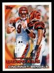 2010 Topps #184   -  Carson Palmer / Chad Ochocinco Bengals Team Front Thumbnail