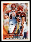 2010 Topps #184   -  Carson Palmer / Chad Ochocinco Bengals Team Front Thumbnail